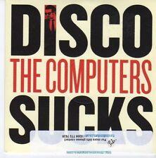 (DZ991) The Computers, Disco Sucks - 2013 DJ CD