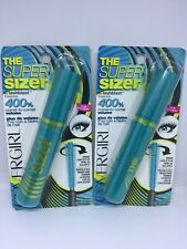 Lot of 2 CoverGirl Super Sizer By lashblast 400 volume Mascara #810 BLACK BROWN