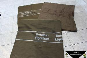 original Bundeswehr Wolldecke Katastrophenschutz Pferde- Decke Armee gebr-neuw