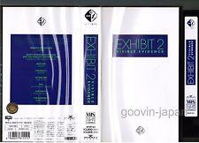 EXHIBIT 2 Visible Evidence ERASURE, NITZER EBB JAPAN VHS VIDEO w/Insert BVVP-63