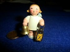 Vintage Erzgebirge Angel Holding Bell / Lantern