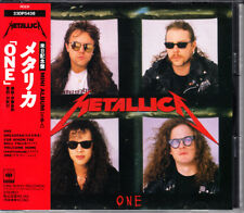 Metallica One 1989 Japan CD 1st Press With Obi 23DP-5438 OOP HTF Very Rare