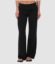 $298 Stonewear Women's Black Stretch Mid Rise Trousers Casual Pants US Size L