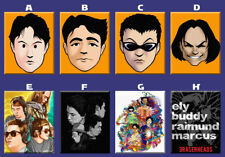 Eraserheads Eheads Pinoy Band OPM Artwork Poster Ref Magnet Collectible