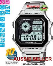 AUSSIE SELLER CASIO WATCHES AE-1200WHD-1AVD AE1200 AE1200WHD 12 MONTH WARRANTY