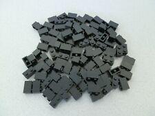 Lego 3004# 100 x Basic Steine 1x2 hoch in schwarz 7785 10188 10018