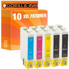 10 Patronen XL für Epson Stylus SX 200 SX 205 SX 210 SX 215 SX 218 GI0711-0714