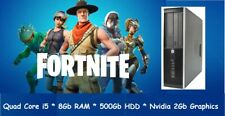Cheap Fast Quad Core i5 Fortnite Gaming PC Windows 10 Desktop PC HDMI Computer