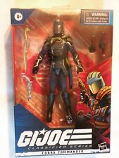 Hasbro G.I. JOE GiJoe Classified Series Cobra Commander Leader MIB New in Box