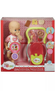 Mattel Little Mommy Happy Snack Time Baby Doll & Accessories FCN10 New In Box