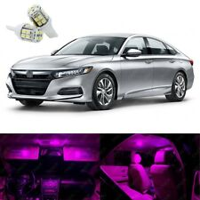 14 x Pink LED Interior Lights Package Kit Deal Best For ACCORD 2013 - 2019