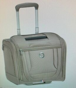 Delsey  Helium DLX Softside 2-Wheel Underseater,carry on,0rig.$260