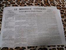 LE MONITEUR UNIVERSEL, journal officiel de l'empire français, n° 330, 26/11/1858