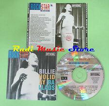CD BILLIE HOLIDAY Ballads ROCKSTAR MUSIC 1992 italy RCK144 no mc lp dvd vhs