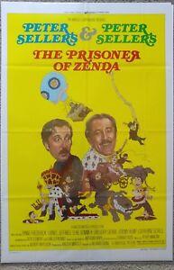 THE PRISONER OF ZENDA ONE SHEET VF UNIVERSAL 1979