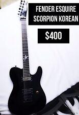 Fender Esquire Scorpion korean electric Guitar