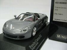WOW EXTREMELY RARE Porsche Carrera GT Targa Grey 2003 1:43 Minichamps-RSR-Spark