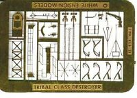 White Ensign Models 1/700 #PE7009 Tribal Class Destroyer Detail Up Etching Parts