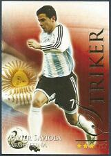 FUTERA 2010 WORLD FOOTBALL-SERIES 2- #693-ARGENTINA-JAVIER SAVIOLA