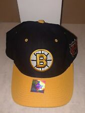 RARE BOSTON BRUINS 2011 STANLY CUP CHAMPIONS STARTER FITTED HAT 7 1/4 100% WOOL