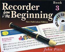 Enregistreur depuis le début: Livre de l'élève / CD 3 (édition 2004)