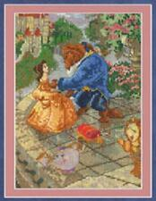 Counted Cross Stitch Kit  BEAUTY & THE BEAST VIGNETTE; Disney Dreams Collection