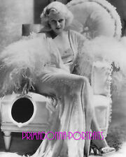 "JEAN HARLOW 8X10 Lab Photo SEXY Enchanting ""DINNER AT EIGHT"" ""ADRIAN"" Portrait"