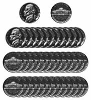 1963 Jefferson Nickel Gem Proof Roll (40 pcs) Coin