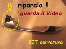 ALFA ROMEO 147/GT e FIAT 500 Maniglia esterna kit x riparazione lato serratura.
