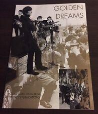 GOLDEN DREAMS-BEATLES-Genesis Publications Ad  Brochure - Kirchherr & Scheler