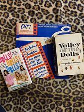 Valley Of The Dolls Lot- Hc 1st Edition-Dolls Dolls Dolls Pb-Cut Vinyl Lp Gay