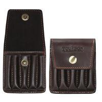 Tourbon Rifle Ammo Wallet Bullet Pouch Cartridges Case Belt Genuine Leather Shot