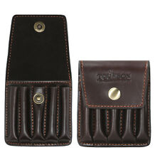 Tourbon Genuine Leather Rifle Cartridges Wallet Bullets Pouch Ammo Case Hunting