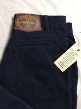 Vtg Gitano Jeans Size 16 Average Tapered Leg Button Fly Dark Wash 80s/90s NWT