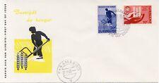 Suriname - E25 (Anti-honger VN 1963) -  Blanco / Open klep