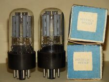 2 Russian 6SN7 Vacuum Tubes Very Strong Results= 2460/2640  2720/2560