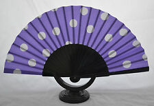 Spanish flamenco Pericón polka dot fan guajira eventails fächer ventagli abanico