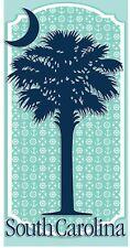 """Palmetto Tree Beach Towel 30""""x 60"""" South Carolina Palmetto Tree Towel"""