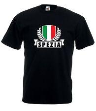 T-shirt Maglietta J1801 La Spezia Città d'Italia Ultras