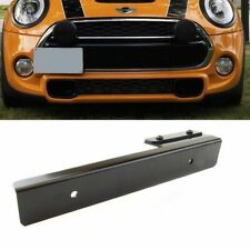 Black Relocator Bumper License Plate Mount Holder Bracket for Mercedes Benz