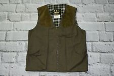 Barbour chaleco Caza Tiro Chaleco Sleeveles cheques Chaleco Xl