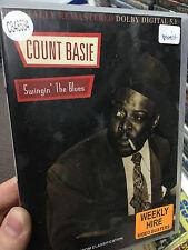 Count Basie - Swingin' The Blues ex-rental region 4 DVD (RARE) music