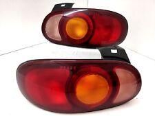 JDM 98-05 Mazda Miata MX5 NB NB8C NB6C Roadster Tail Lights Lamp OEM IKI 1Pairs