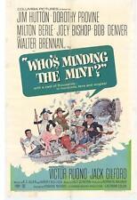 WHO'S MINDING THE MINT Movie POSTER 27x40 Jim Hutton Dorothy Provine Milton