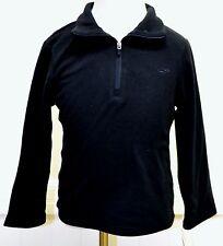 Champion Girls Black Fleece Quarter Zip Jacket Coat XS New