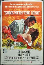 Gone Mit Die Wind R1974 Original 27X41 NM Film Poster Clark Gable Vivien Leigh