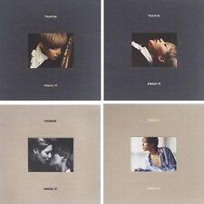 SHINEE TAEMIN [PRESS IT] 1st Album RANDOM Ver CD+PhotoBook+Card K-POP SEALED
