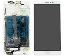 DISPLAY ORIGINALE LCD TOUCH + FRAME + BATTERIA PER HUAWEI MATE 9 MHA-L29 BIANCO