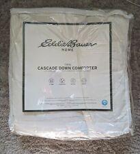 NWT Eddie Bauer Twin Down comforter