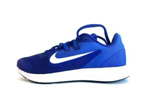 Nike Downshifter 9 (GS) Trainers - Deep Royal Blue/White - Size UK 4  AR4135 400